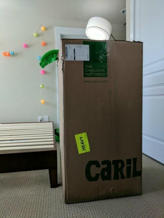 Cariloha mattress in a box