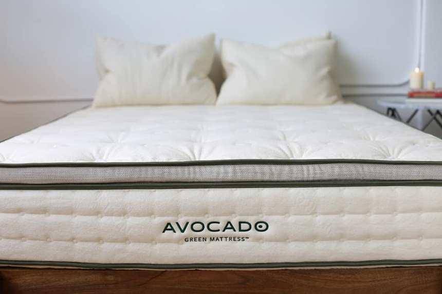 Avocado Green Mattress with Pillow Top