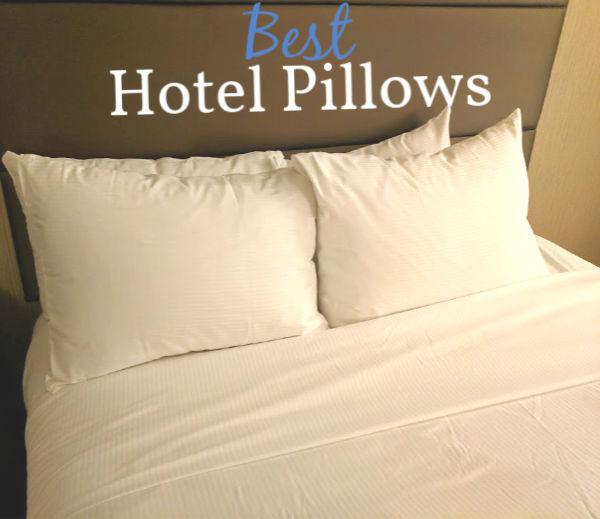 best hotel pillows