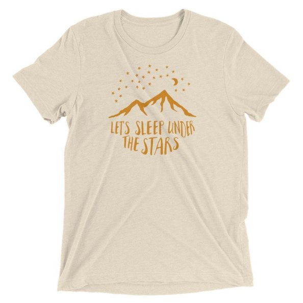 sleep under the stars tshirt