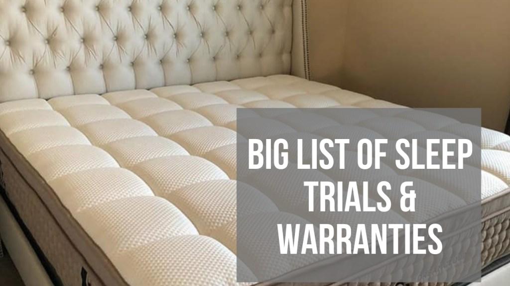 free mattress trial