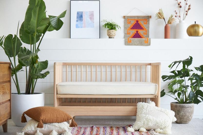 organic waterproof crib mattress protector