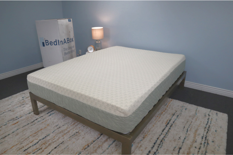 eco lux bed in a box mattress