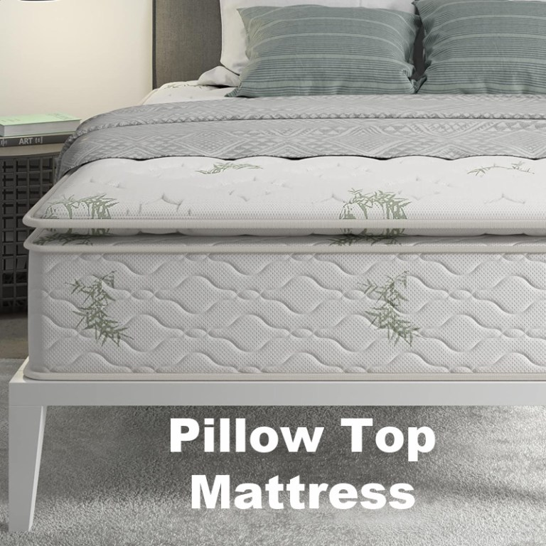 pillow top mattress in a box