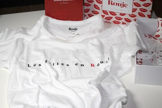 "Rouje - T-Shirt ""Les filles en Rouje"""