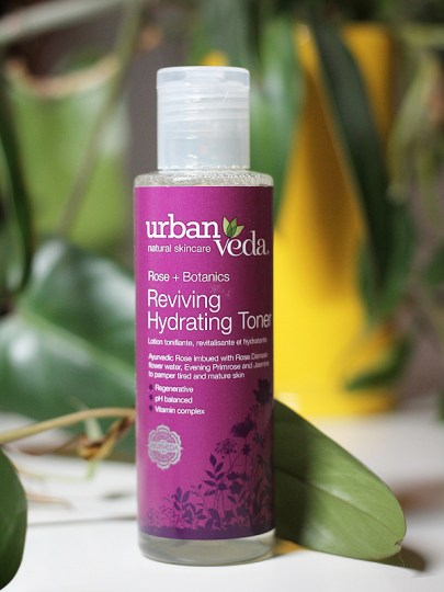 Urban Veda - Rose + Botanics Reviving Hydrating Toner