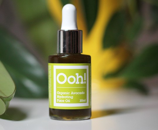 Ooh! Oils of Heaven - Organic Avocado Hydrating Face Oil