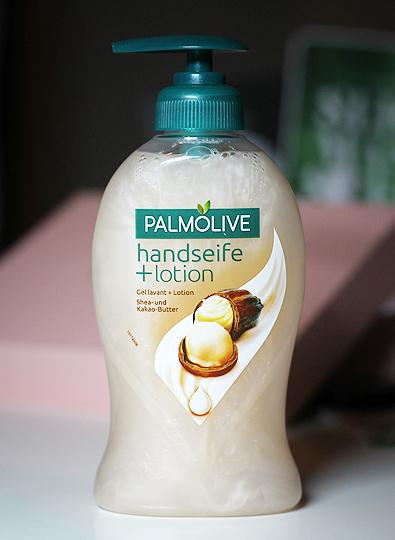 Palmolive - Handseife + Lotion Shea- und Kakao-Butter