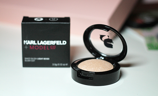 ModelCo. + Karl Lagerfeld - Baked Blush Highlighter