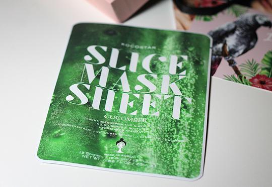 KocoStar - Slice Mask Sheet mit Gurkenextrakt