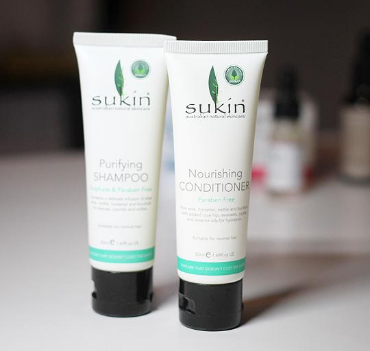 Sukin - Purifying Shampoo und Nourishing Conditioner