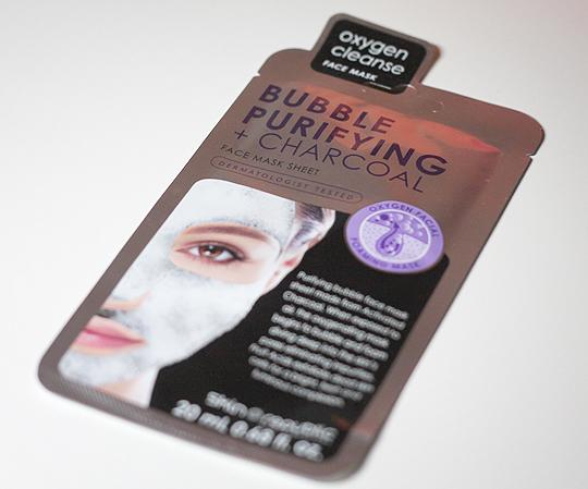 Skin Republic: Bubble Purifying + Charcoal Face Mask Sheet
