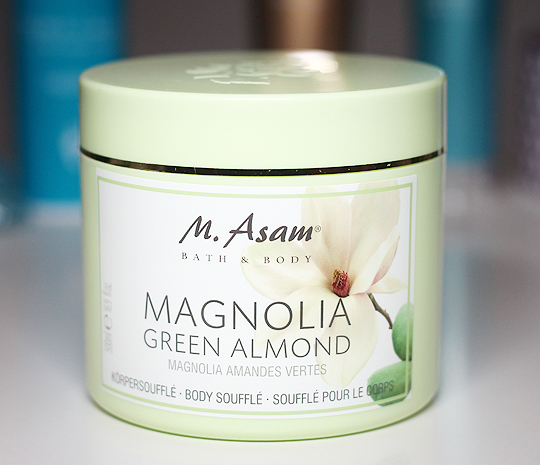 M.AsamBody Soufflé: Magnolia & Green Almond