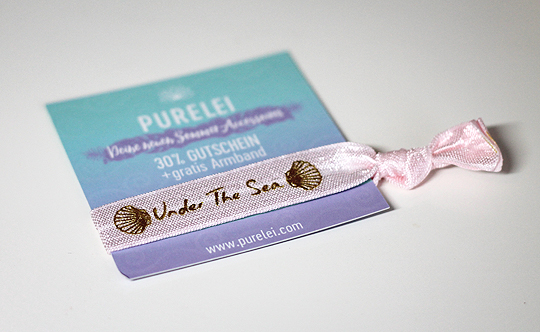 "Goodie: Purelei Armband ""Under the Sea"""