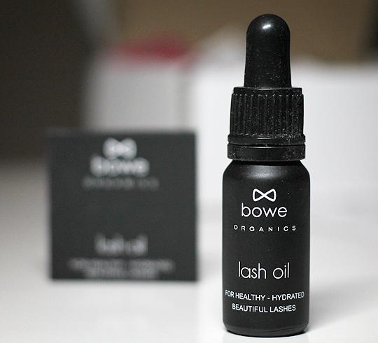bowe Organics Lash Oil