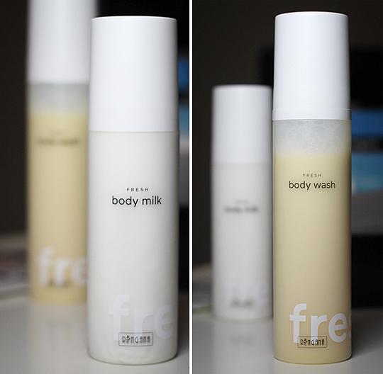 Ringana Fresh Body Milk und Body Wash