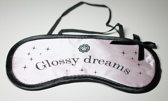 Glossybox Goodie: Glossy Dreams Schlafmaske