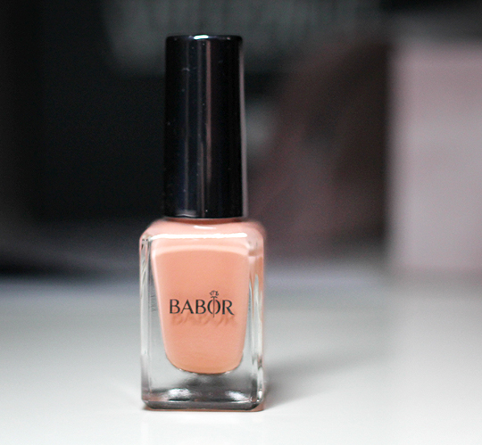 "Babor Nail Colour in ""09 Salmon"""
