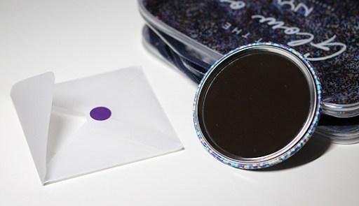 Taschenspiegel im Mini-Format