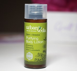 Aufgebraucht! April 2019: Urban Veda - Purifying Body Lotion