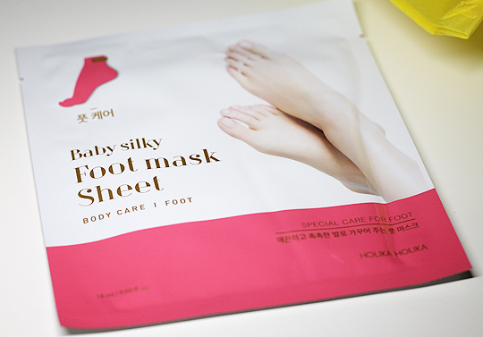 Holika Holika - Baby silky Foot mask Sheet