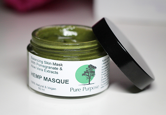 Pure Purpose Hemp Masque
