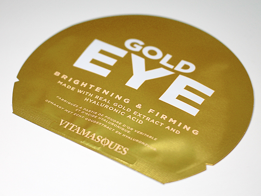 Vitamasques - Gold Eye Pads