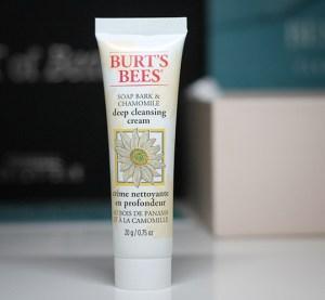 (Burt's Bees) Deep Cleansing Cream - Aufgebraucht Jänner 2020