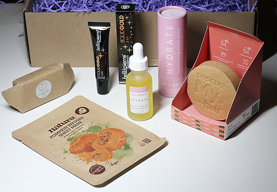 The Cruelty Free Beauty Box Oktober 2019