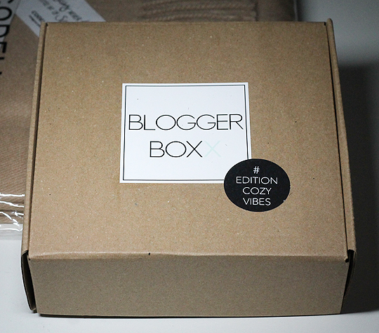 Bloggerboxx - Edition Cozy Vibes