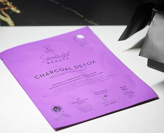 (Seoulista) Charcoal Detox Instant Facial