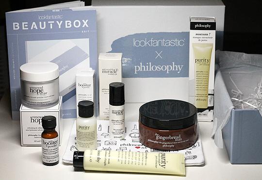 Lookfantastic x Philosophy Box