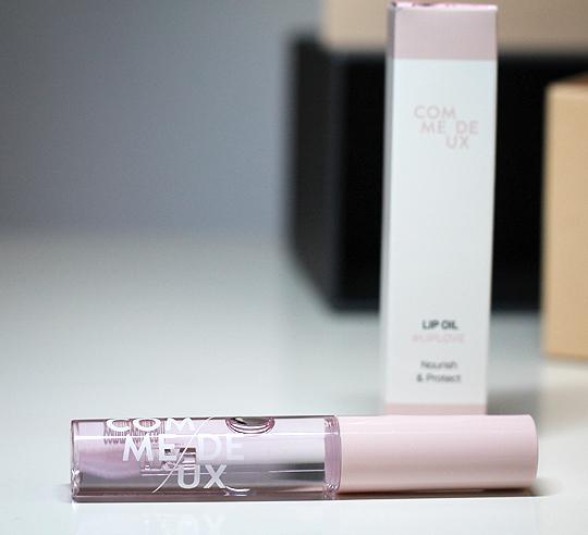 "(Comme Deux) Lip Oil #LipLove in ""Rose"""