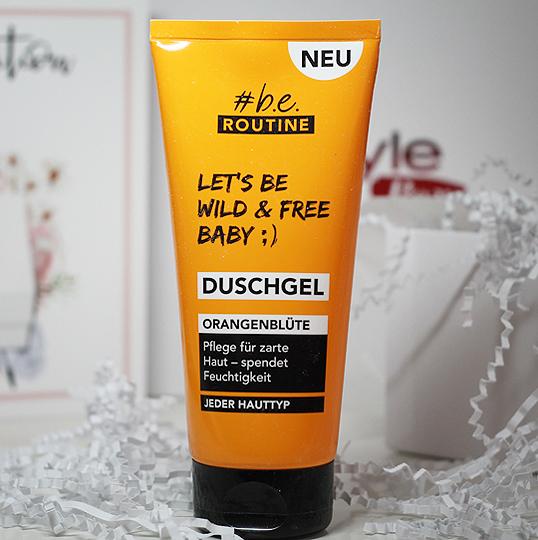 (#b.e. Routine) Duschgel Orangenblüte