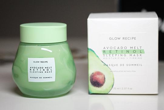 (Glow Recipe) Avocado Melt Retinol Sleeping mask