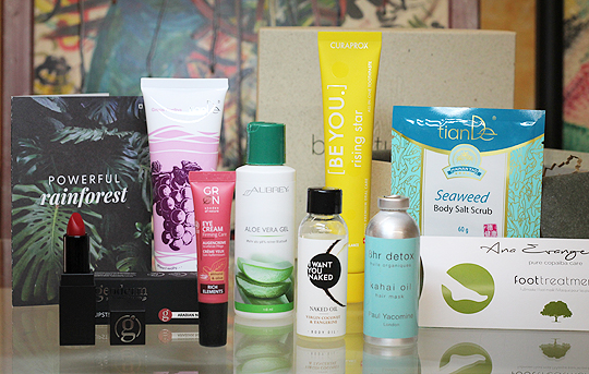 BeautyLove The Natural Box August 2020 - Powerful Rainforest