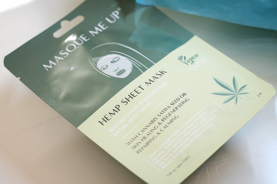 (Masque Me Up) Hemp Sheet Mask