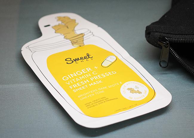 [Sweet Chef] Ginger + Vitamin C Fresh Pressed Sheet Mask