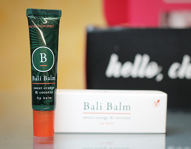 [Bali Balm] Sweet orange & coconut lip balm - BoxyCharm Base Jänner 2021