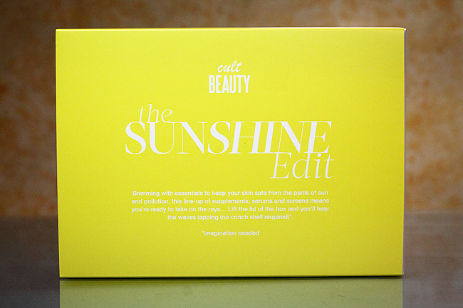 The Sunshine Edit by Cult Beauty