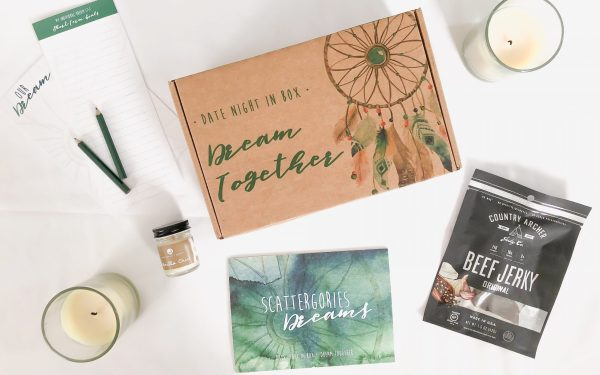 'Dream(ing) Together' with this month's Date Night In Box!