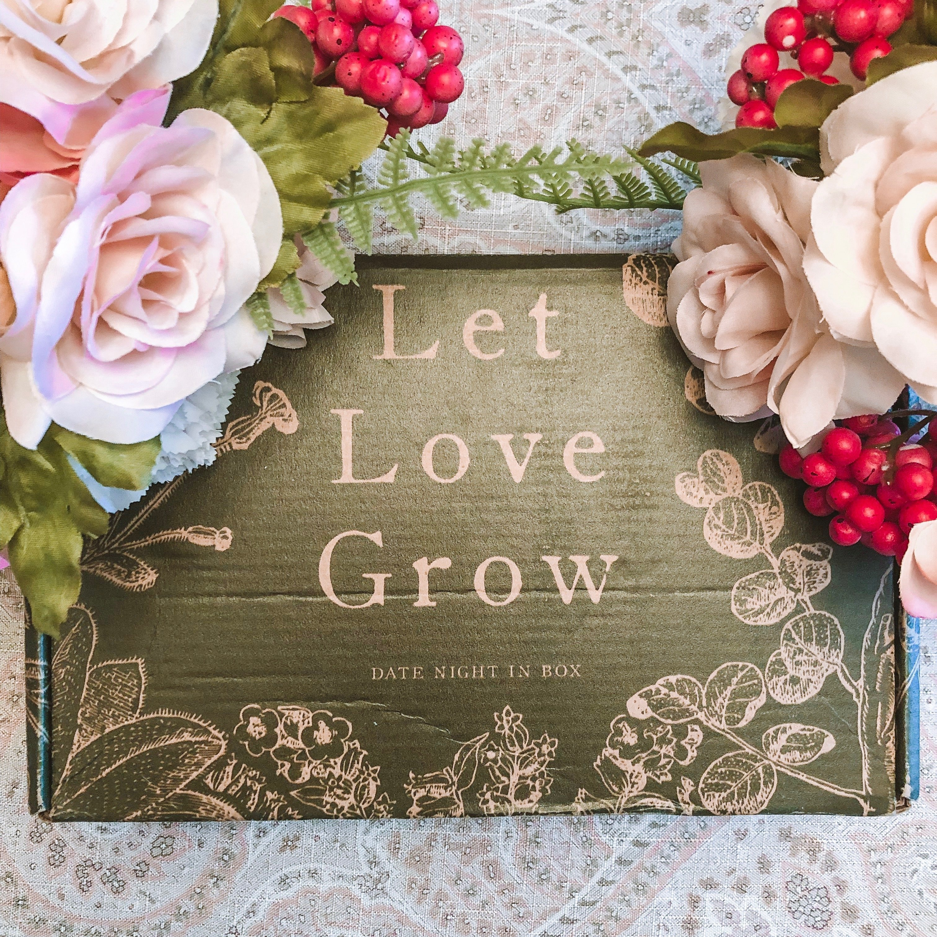 Letting Love Grow with this month's eco-friendly Date Night In Box!