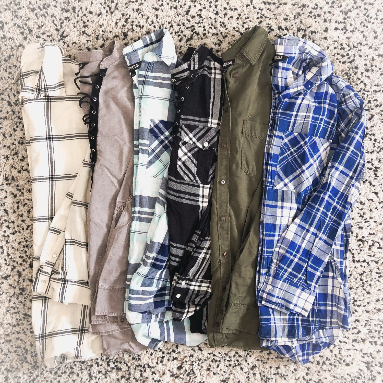 Must-have flannels for fall
