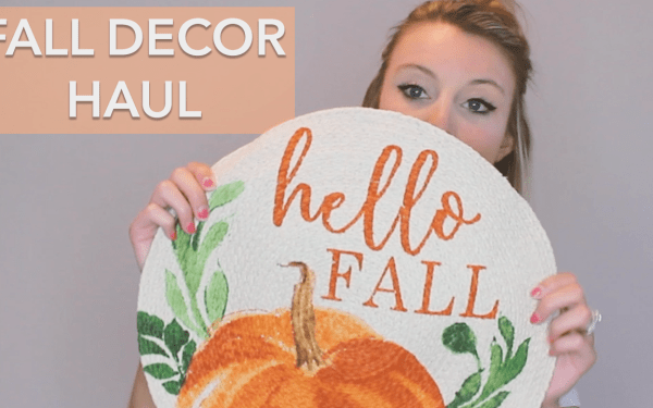 Fall Decor Haul | Christmas Tree Shop