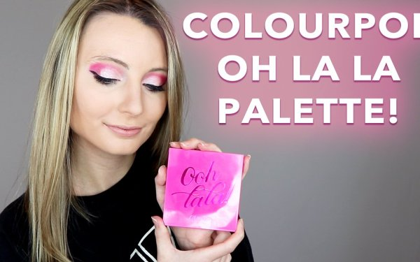 ColourPop Oh La La Palette Tutorial & Review
