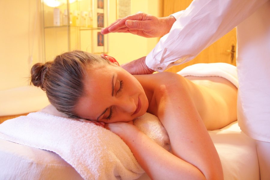Relaxation through massage