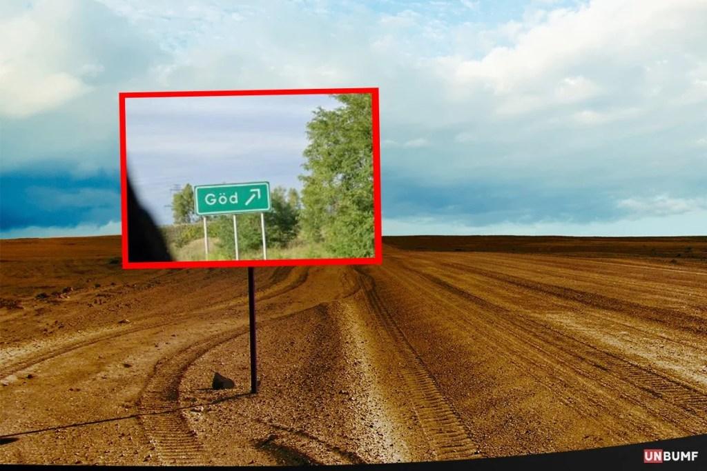 road signs umbumf 14