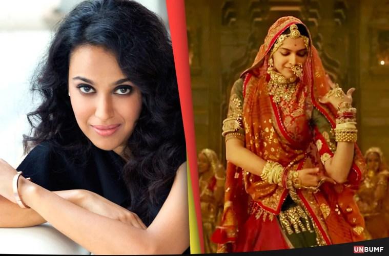 Swara Bhaskar Padmaavat Featured UnBumf