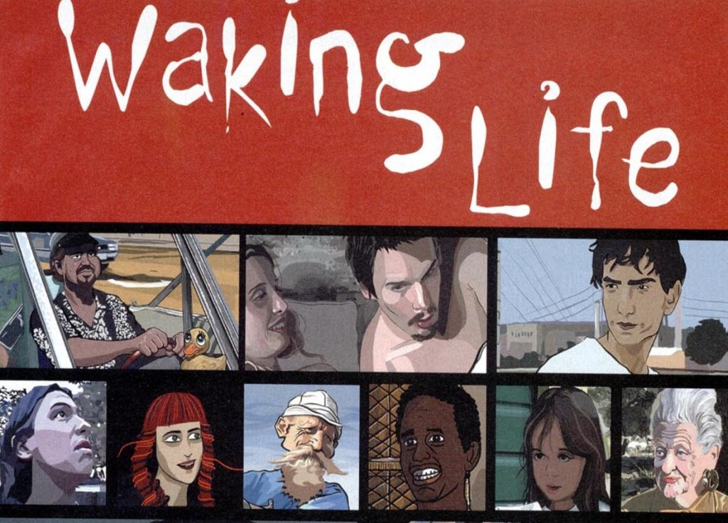Waking Life animated movies UnBumf
