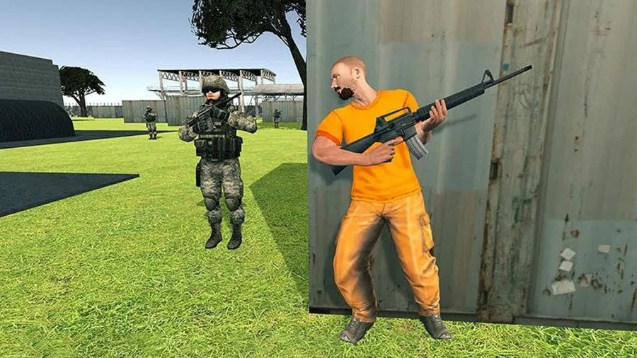 Prison Escape with Gun UnBumf